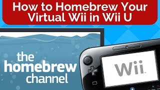 How to Homebrew The vWii in Your Wii U