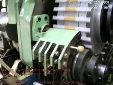 Molins Mk 8 Post 64 Cigarette Maker With Hauni Max