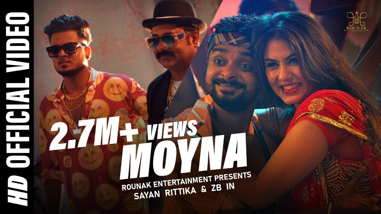 Moyna | Official Music Video || Sayan | Rittika | ZB  || Rounak Entertainment
