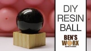 HOW TO MAKE A RESIN BALL USING A CAKE MOLD **RESIN CASTING**