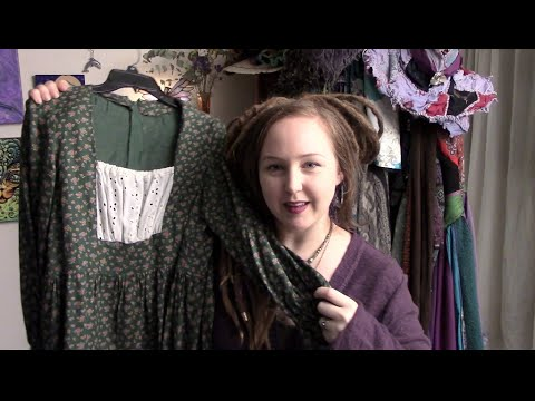 Second Hand Clothing closet tour - The Mermaid The Witch & The Wardrobe - Episode 1
