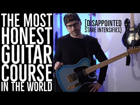 the most honest guitar course in the world
