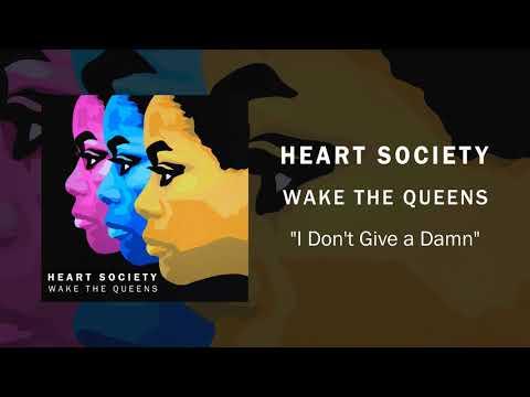 Heart Society - I Don't Give a Damn - Album Artwork Video