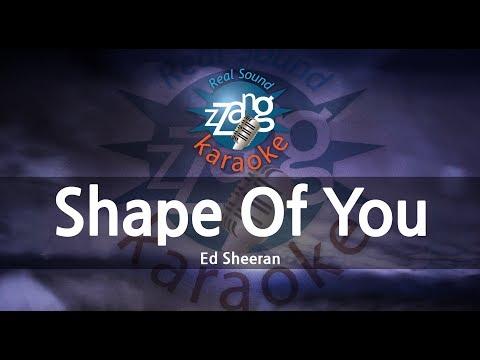 Ed Sheeran-Shape Of You (Karaoke Version) [ZZang KARAOKE]