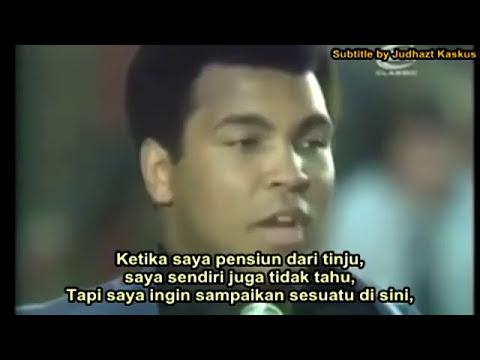 Pesan Muhammad Ali Untuk Kita Semua. Apakah Itu Masuk Akal?