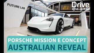 Porsche Mission E Concept In Australia | Drive.com.au