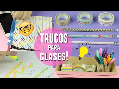 Thumbnail: 9 TRUCOS ESENCIALES PARA IR A CLASES | What The Chic