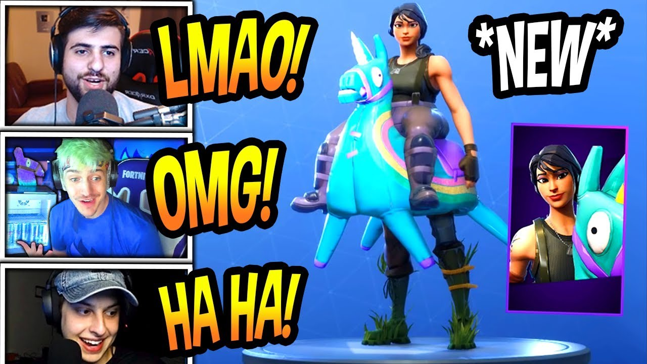 streamers-react-to-new-yee-haw-skin-epic-fortnite-funny-savage-moments