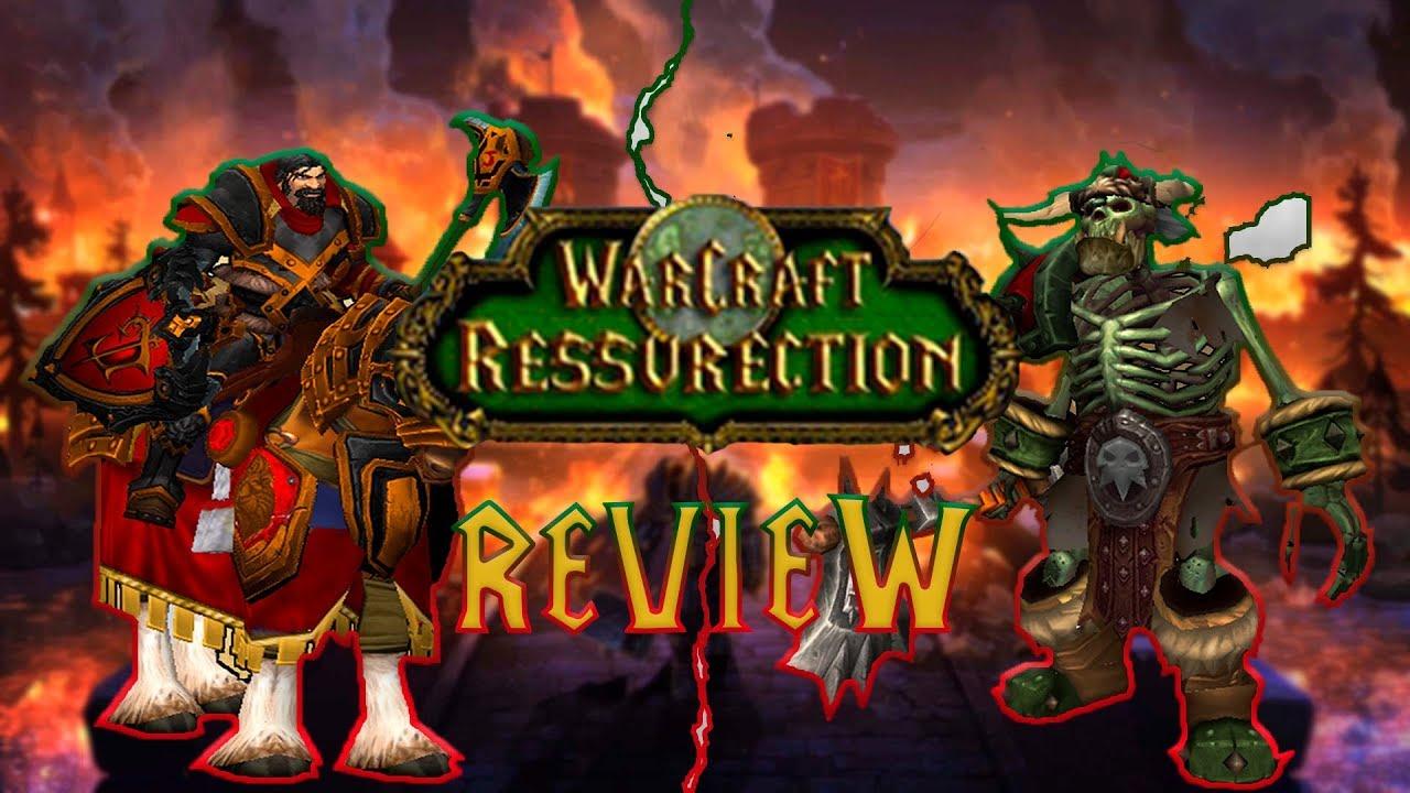 Warcraft Ressurection / HD MOD ДЛЯ WARCRAFT 3 /ОБЗОР/BLIZZARD И НЕ СНИЛОСЬ