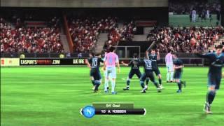 FIFA 11 Robben Goal