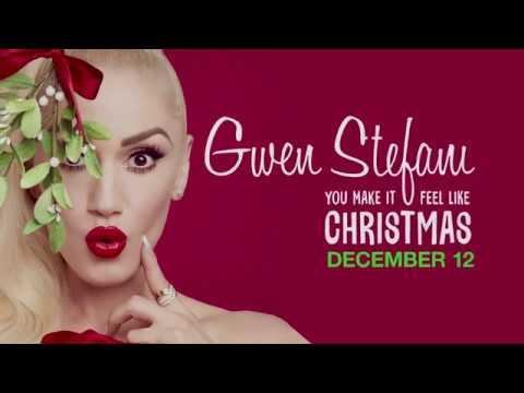 gwen stefani on her you make it feel like christmas album special and blake shelton - Blake Shelton Christmas Album