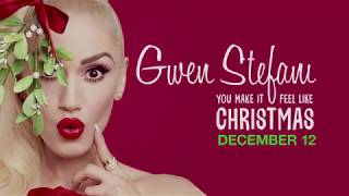 Gwen Stefani Is Ready To Spread Holiday Cheer on December 12!