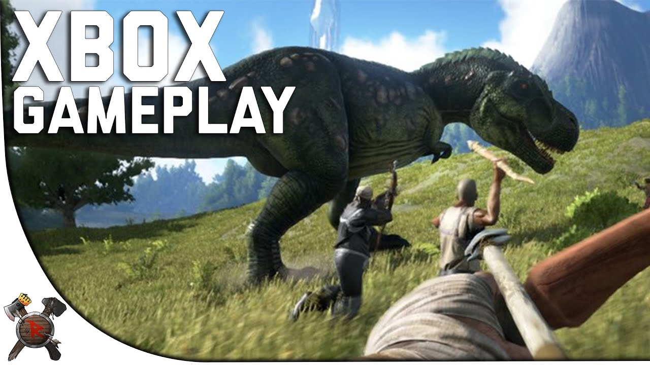 ark console xbox one gameplay ark survival evolved xbox