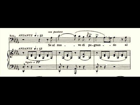 La Battaglia di Legnano - Giuseppe Taddei: Se al nuovo dì pugnando...