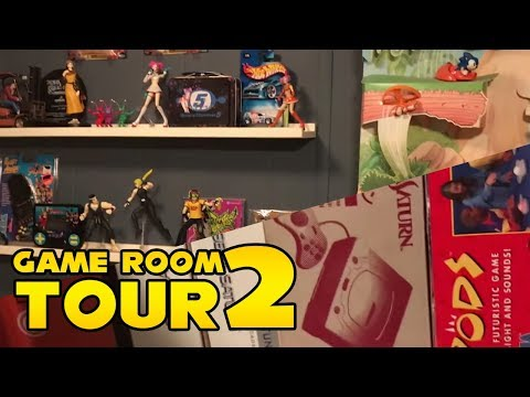 Barry's SEGA Game Room & Sonic the Hedgehog Collection Tour Part 2