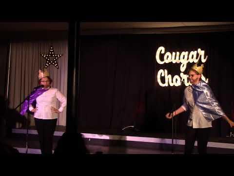 Agony – Anna Stein & Sienna Zimmermann, Oakton High School, Cougar Cabaret  10/28/2017