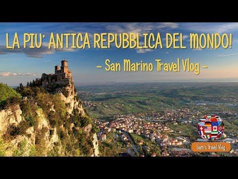 LA PIU' ANTICA REPUBBLICA DEL MONDO! - San Marino Travel Vlog