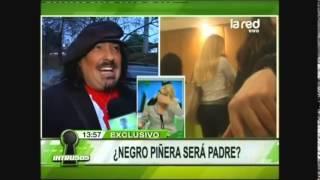 ¿El Negro Piñera será papá?