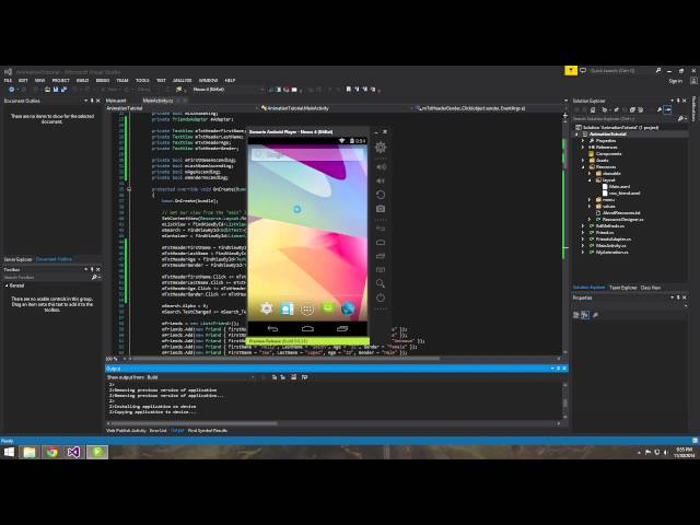 Xamarin Android Tutorial   16   Filtering a ListView using LINQ