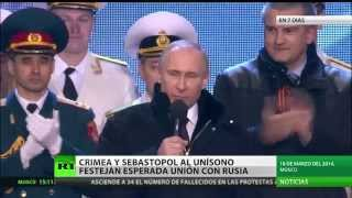 Crónica de la semana: Crimea forma parte de Rusia