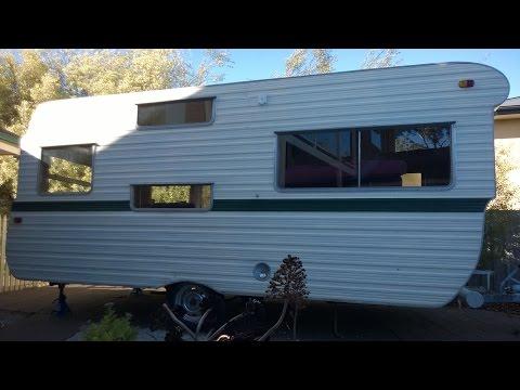 Part 1: 1969 Millard 16ft Caravan - Front Interior Wall Renovation