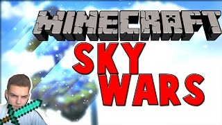 Minecraft SKYWARS! JAK on NIE PADŁ?! #1
