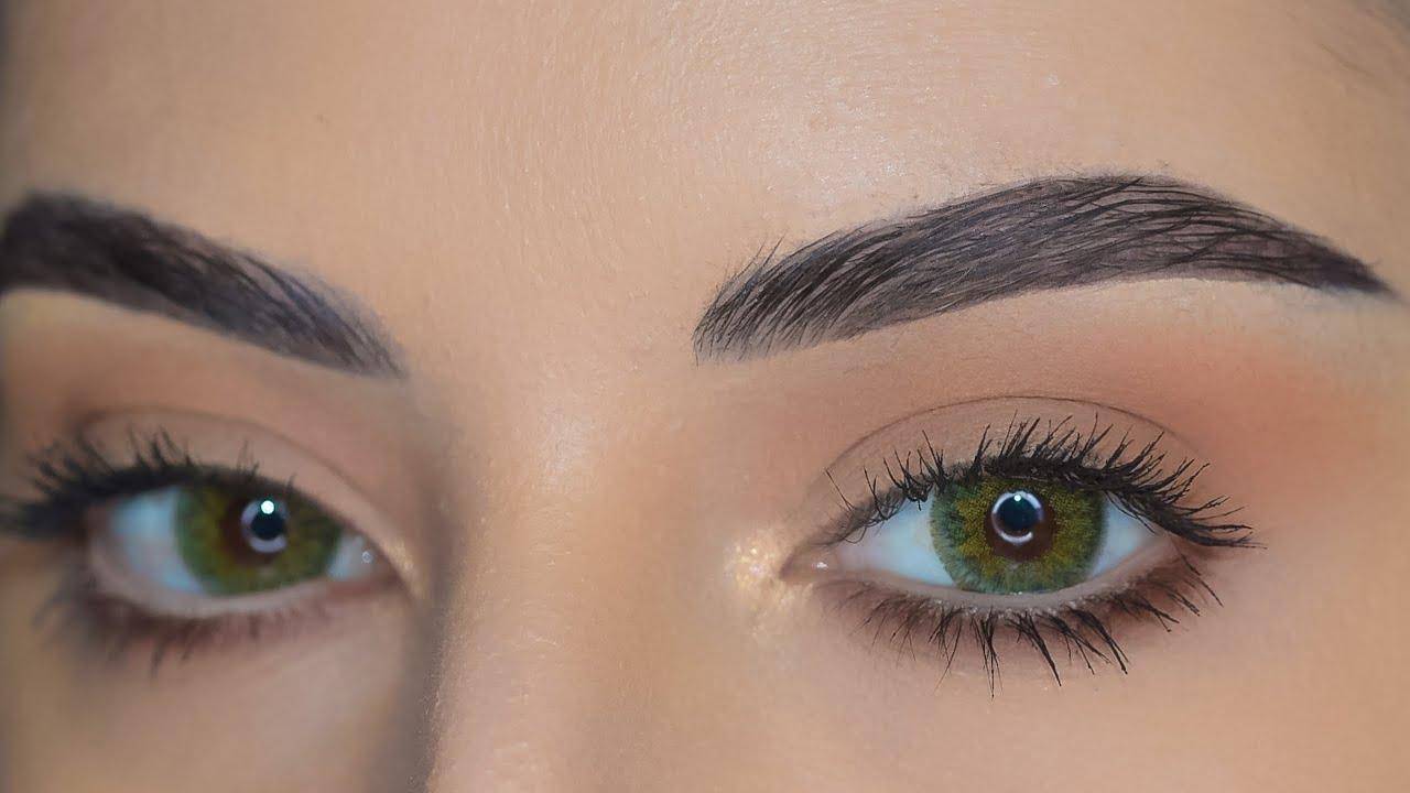مكياج للدوامات ولا اسهل واسرع وكمان للمبتدئين بالميكب ومن غير رموش 😍😍Easy fast eye makeup for work