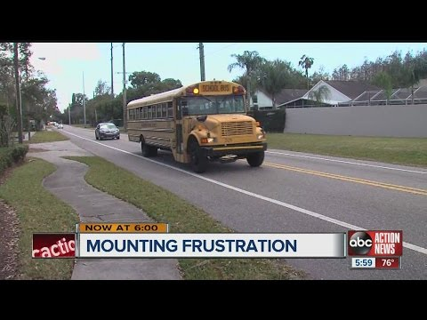 School bus troubles in Hillsborough County