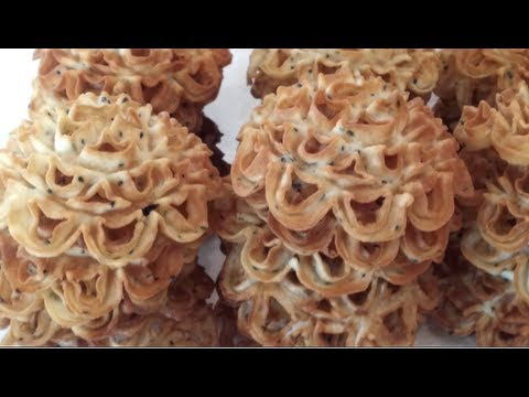 thai lotus flower cookie recipe