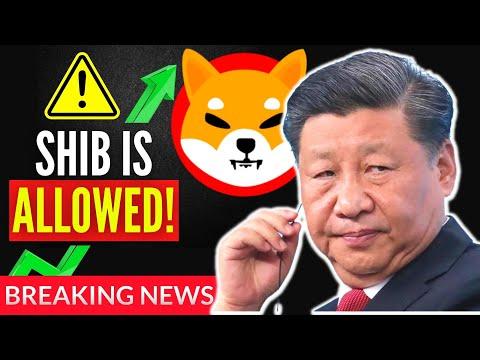 LEAKED! CHINA SAID THIS ABOUT SHIBA INU COIN SHIB TOKEN! Shiba Inu Coin News Today