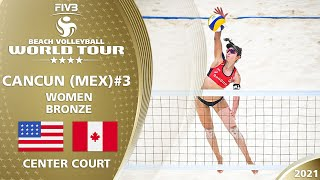 Alix/April vs. Pavan/Melissa - Full Match | 4* Cancun 2021 #3