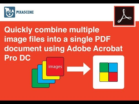 how to change multiple jpeg into multiple pdf