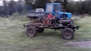 Уаз с двигателем Т 40 первые испытания