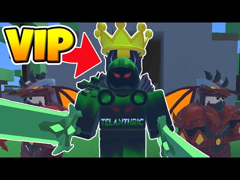 Roblox BedWars PROTECT THE VIP Challenge