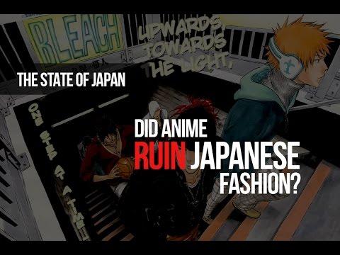 Did Anime Ruin Japanese Fashion?