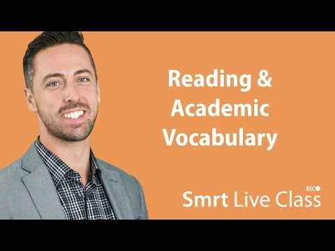 Reading & Academic Vocabulary - English for Academic Purposes with Josh #17
