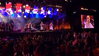 WALTZING MATILDA - John Schumann, Wendy Matthews & Brian Cadd, Australia Day, Live, 2009.