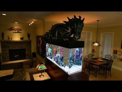 Magical Dragon Fish Tank Youtube