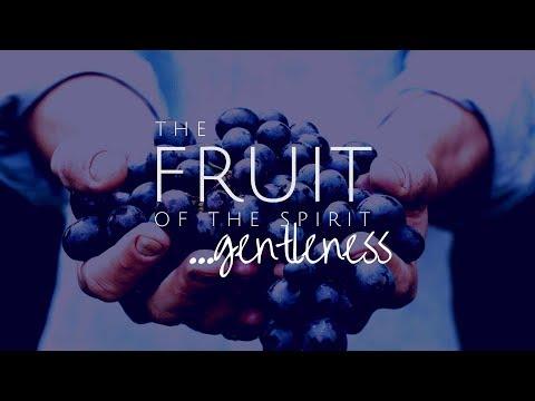 🔴 The Fruit of the Spirit-Gentleness