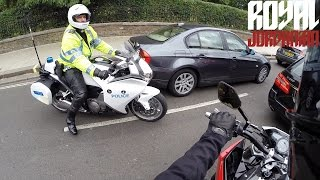 Police and the Husqvarna Nuda 900R thumbnail