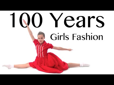 100 Years of Girls Fashion — Lammily — Music by Edvin Marton