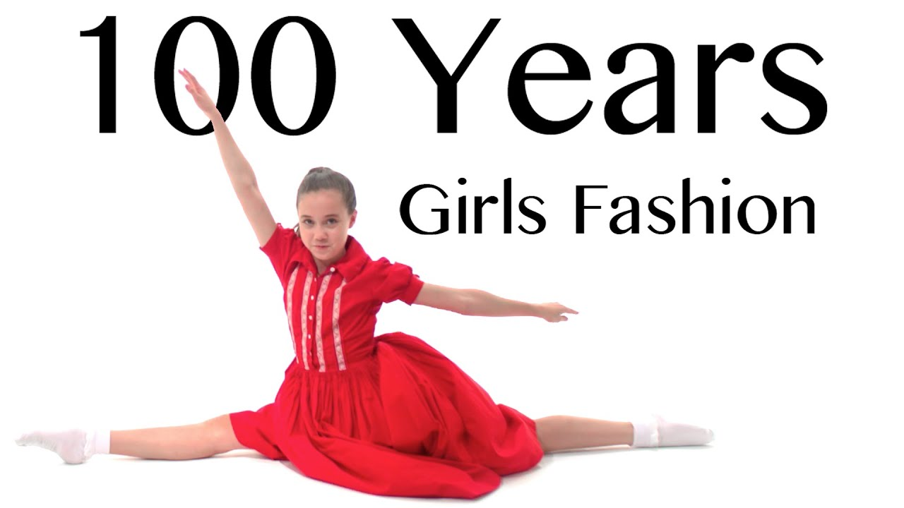 100 years of girls fashion � lammily � music by edvin