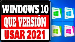 WINDOWS 10  🖥️Todas Sus Versiones / Cual Debemos Usar 2020 💻EL MEJOR