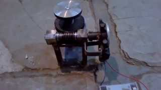 automatic jack mechanical project made by MM Kusha for lifting cars