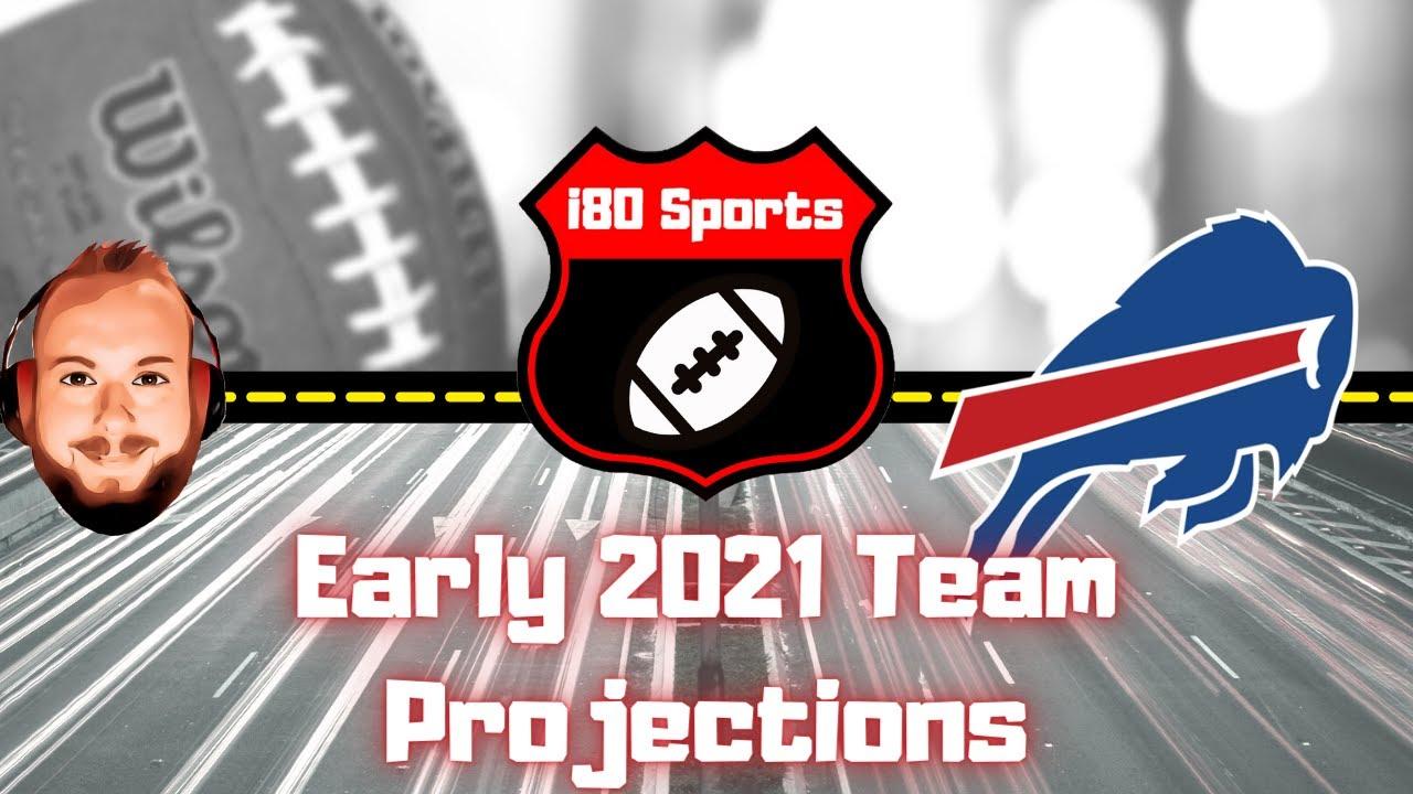 Early 2021 NFL Projections- Buffalo Bills
