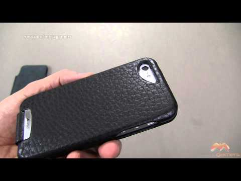 Vaja Top Flip iPhone 5 Case Review