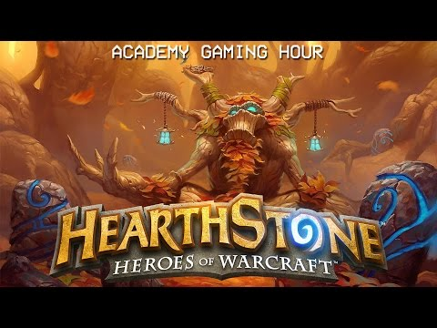 Academy Gaming Hour w/ Hearthstone (Holiday 2015 Edition)