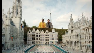 Richard Ayoade & Lee Mack visit mini Europe - Travel Man: 48hrs in Brussels...