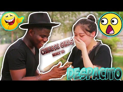 Chinese Girls React To Despacito- Luis Fonsi ft. Daddy Yankee