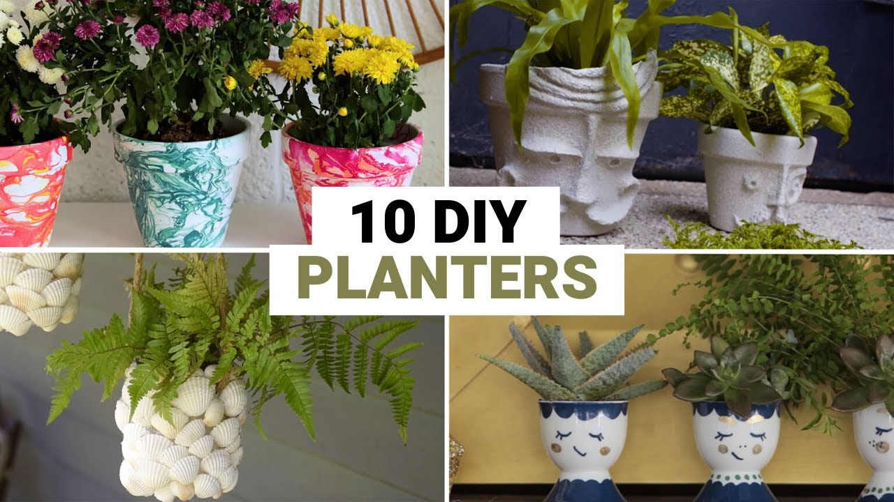 Download 10 DIY Planters You've Never Thought Of
